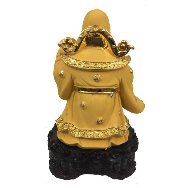 "Бог богатства с вазой богатства со спины № 881819 из коллекции интернет-магазина фэн-шуй ""Мой Талисман"""