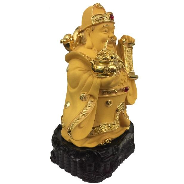 """Бог богатства с вазой богатства, приносящий изобилие № 881821 из коллекции интернет-магазина фэн-шуй """"Мой Талисман"""""""