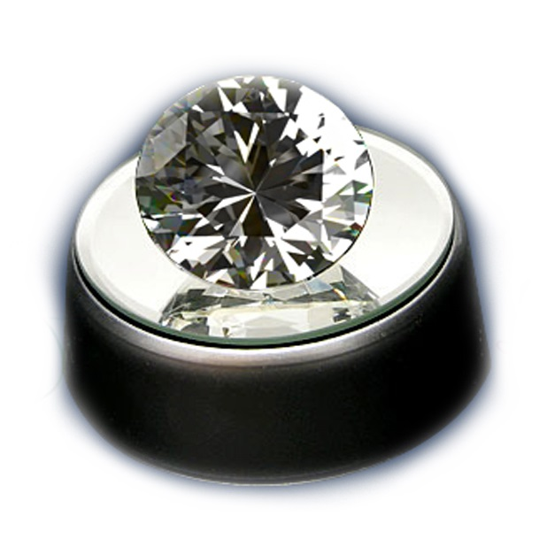 Кристалл белый 8 cм