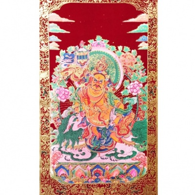 Джамбал - панно Бог богатства