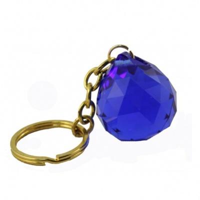 Синий кристалл (брелок)