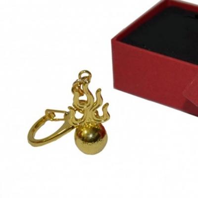 Брелок «Кситигарпха» с мантрами (огненный шар)