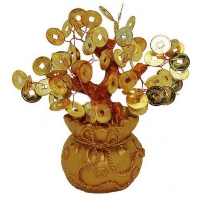 дерево с монетками фэн-шуй