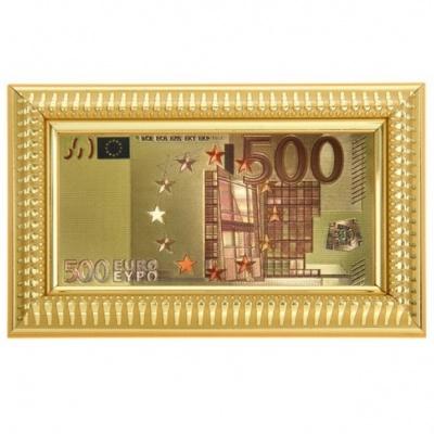 500 евро в рамочке