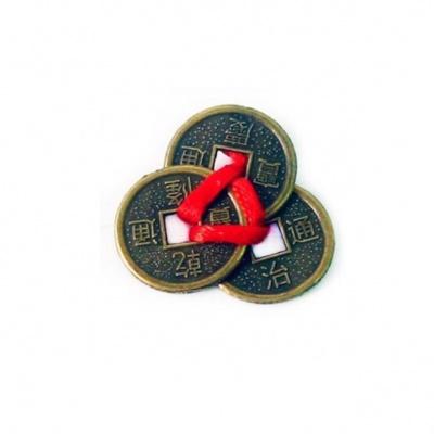 3 монеты для кошелька фен-шуй