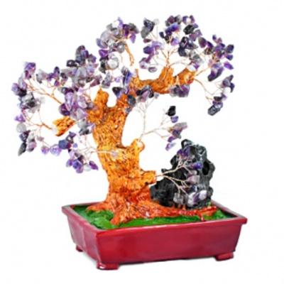 Дерево богатства с аметистом