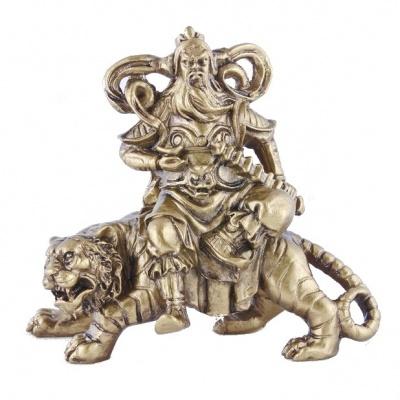 Бог богатства на тигре фен-шуй