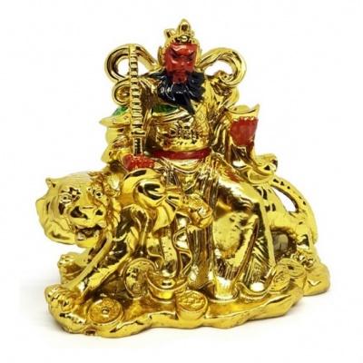 Бог богатства на тигре (большой)