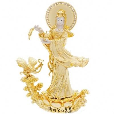 Богиня Гуань Инь с тыквой Вулу и Птицей Гаруда