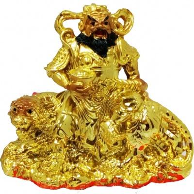 Бог Богатства на золотом тигре