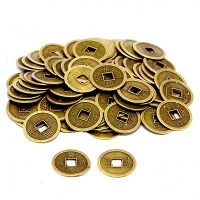 Монеты фен-шуй бронзовые