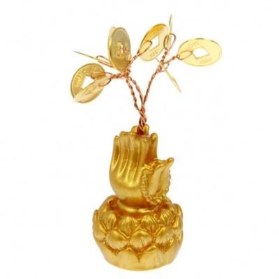 Дерево с монетами Благословение Будды