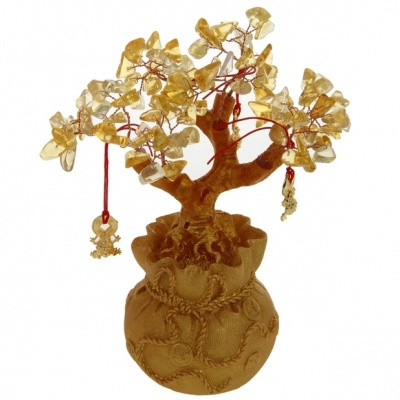 Денежное дерево с монетами фен-шуй