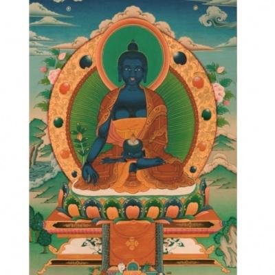 Будда Медицины картинка-магнит
