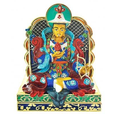 Король Гесер на троне (наклейка)