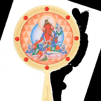 Красная Тара (зеркало феншуй)