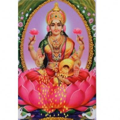 Богиня Лакшми с вазой богатства