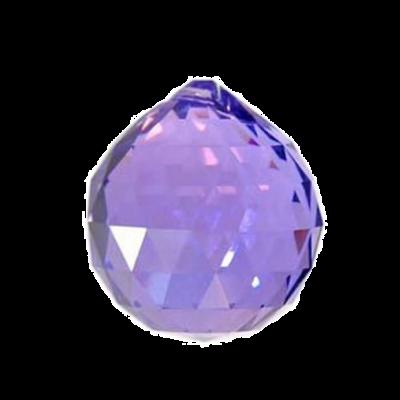 Кристалл лиловый