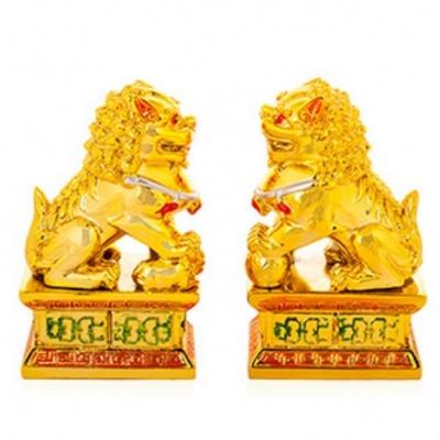 Пекинские львы фэншуй