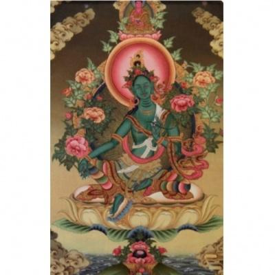 Богиня тара магнит Зеленая Тара фен-шуй