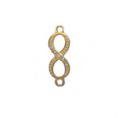 Золотая восьмерка (подвеска)