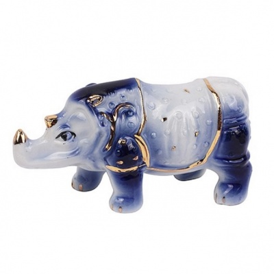 Синий носорог фен-шуй
