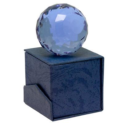 Шар лиловый (5 см) фен-шуй