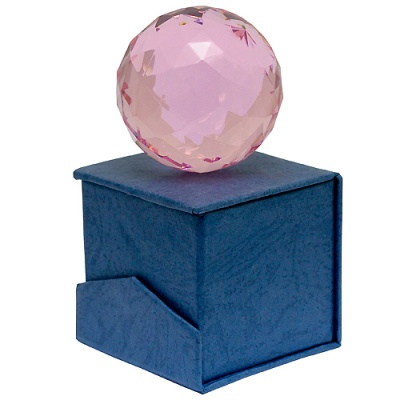Шар хрустальный кристалл