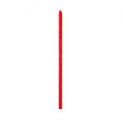 Красная свеча тонкая
