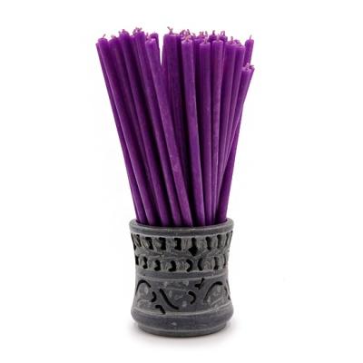 Фиолетовая свеча (17 см)