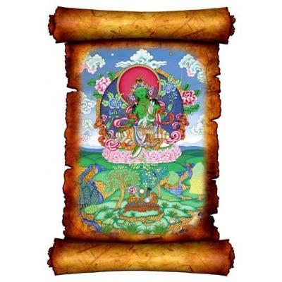 Картина - панно с изображением Богини Тары