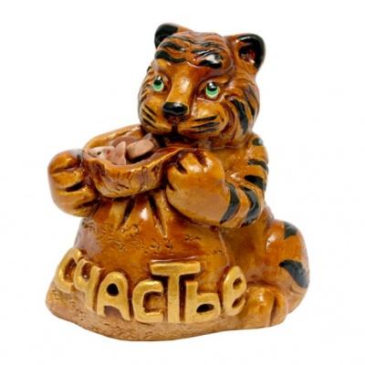 Тигр с мешочком счастья