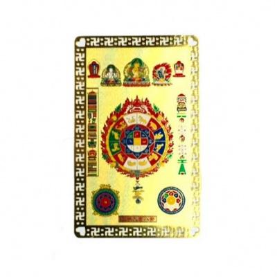 Тибетская защитная карточка