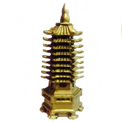 Пагода бронзовая фен-шуй