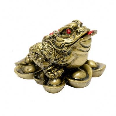 Жаба на монетах фен-шуй