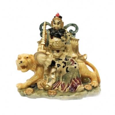 Бог богатства на тигре