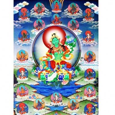 21 Богиня Тара (магнит)
