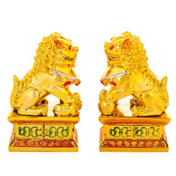 """Пекинские львы фэншуй или Собаки Фу можно купить в интернет-магазине фэн-шуй """"Мой Талисман"""""""