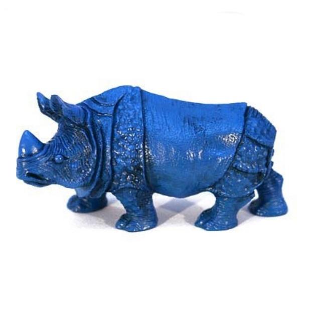Синий носорог (большой) - изображение #1390