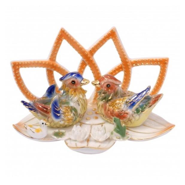 "Уточки - мандаринки фен - шуй № 9156 из коллекции интернет-магазина фэншуй ""Мой Талисман"" фэн-шуй для любви"