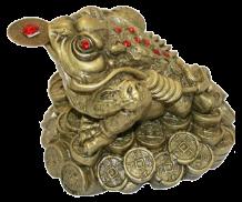 Трехлапая жаба в фэншуй — символ богатства