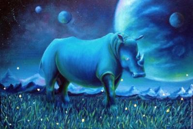 В чем твоя сила, синий носорог?