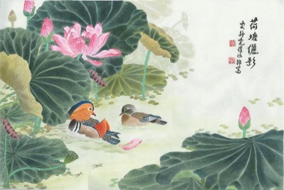 Уточки-мандаринки — символы любви